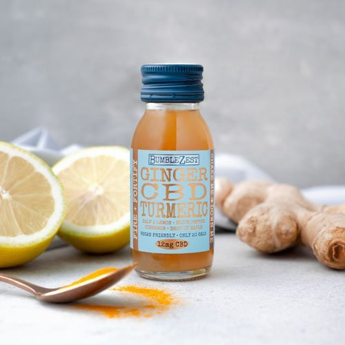 BumbleZest FIRE + FORTIFY health shot lifestyle