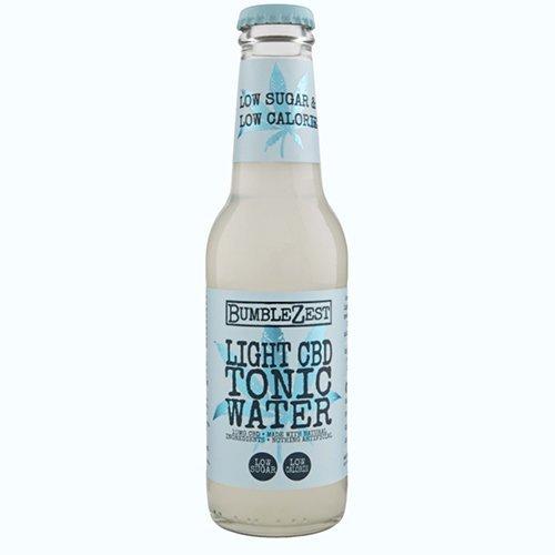 BumbleZest Light CBD Tonic Water product photo.