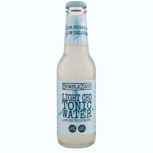 Light CBD Tonic Water Front