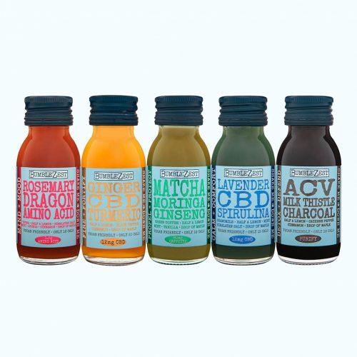 Vegan Mixed Box health shots.