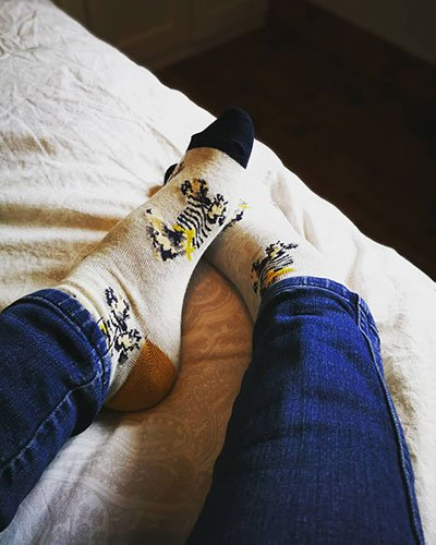 BumbleZest Blog Gemma Newton Picture of jeans and socks